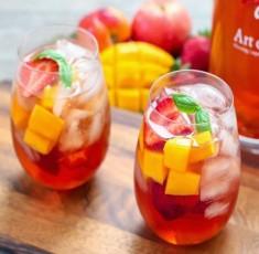 Cocktail Sangria trà mát lạnh