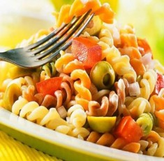 Salad mì ý trộn dầu Olive