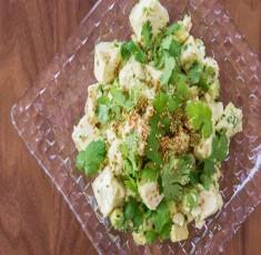 Salad đậu phụ bơ