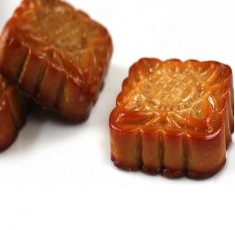 Bánh Trung thu - bánh nướng nhân đậu xanh