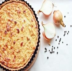 Mang hương vị Pháp trở về bằng công thức làm bánh Tart hành tây