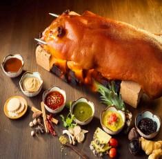 Ngất ngây món lợn quay xứ Lạng – Đặc sản của núi rừng Đông Bắc