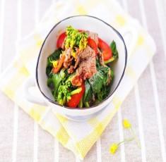 Salad hoa cải ngồng