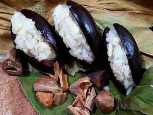 Gói trọn hương vị mùa Thu trong xôi hạt trám và xôi trám cốt dừa