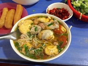 Bún riêu - hương vị Hà Thành