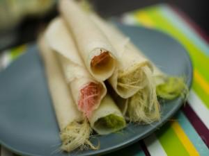 Roti Sai Mai - Món ăn đầy màu sắc của Thái Lan