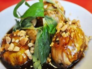 Món ngon Quảng Ngãi: Cúm núm rang me