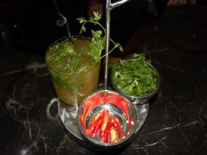 Độc đáo cocktail có hương vị Phở