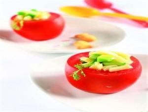 Cà chua nhồi phô-mai