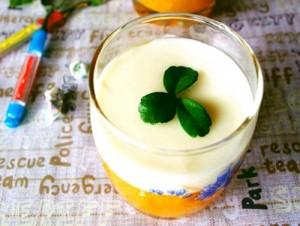 Thạch bí ngô sữa dừa