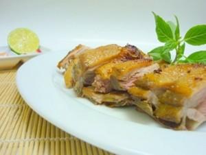 Vịt nướng om nước dừa