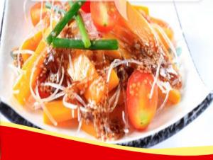 Salad bí đỏ trộn nước tương