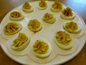 Cách làm trứng nhồi kiểu Mỹ