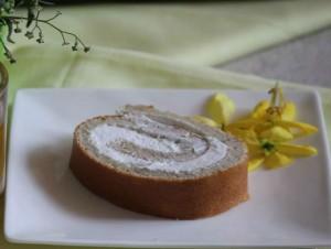 Bánh chuối cuộn ngọt ngào
