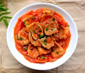 Thịt sốt cà chua