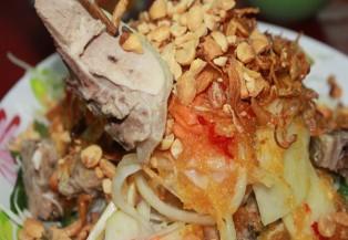 Những quán gỏi vịt ngon ở Sài Gòn