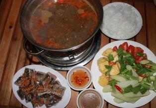 Đi ăn lẩu cá đuối ở Sài Gòn