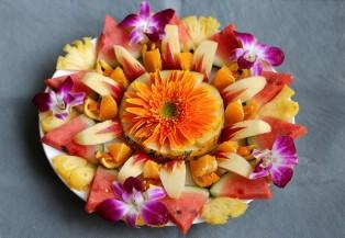 Cách hay cho bạn có 3 đĩa trái cây ngon và đẹp