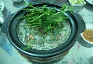 Buổi chiều Sài Gòn thưởng thức bún cá thố
