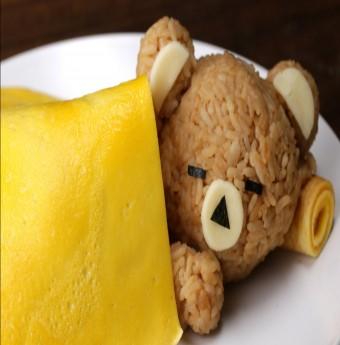 """Mách bạn món cơm """"gấu con đắp chăn trứng rán"""" vừa ngon vừa dễ thương"""