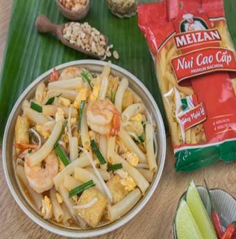 Biến tấu món nui xào theo phong cách Pad Thái