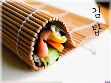 Kimbap – cơm cuốn rong biển kiểu Hàn Quốc