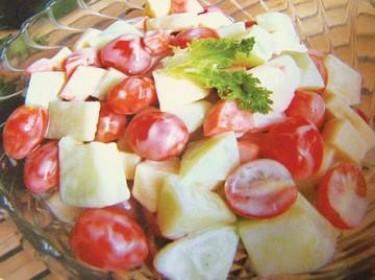 Salad trái cây kiểu Hàn Quốc