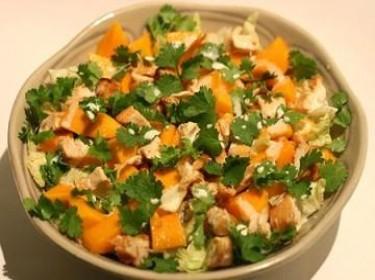 Salad xoài thịt gà