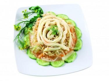 Salad ngồng cải gà xé