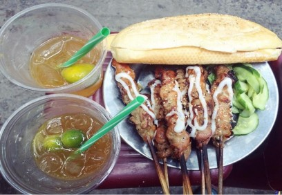 Những món ngon, rẻ trên phố Quang Trung