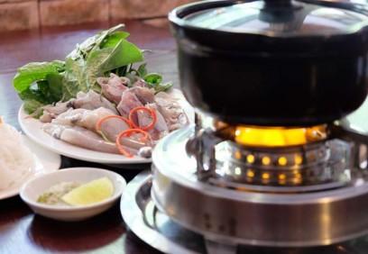 Mực nhúng ớt xiêm xanh - món ăn miền Trung chinh phục dân Sài Gòn