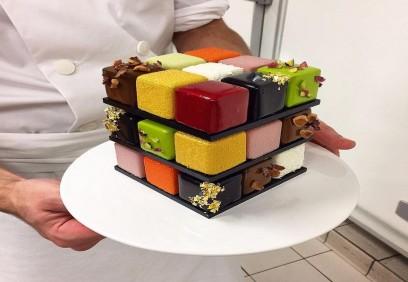 Những tác phẩm độc đáo bánh ngọt