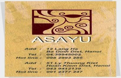 Nhà hàng Asayu