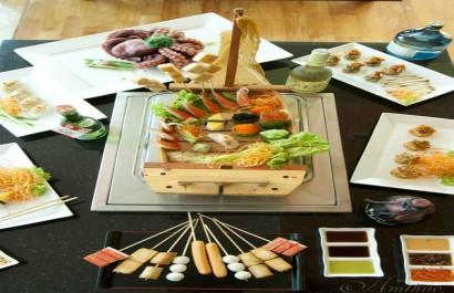 Nhà hàng thức ăn nhanh Sushi & Que