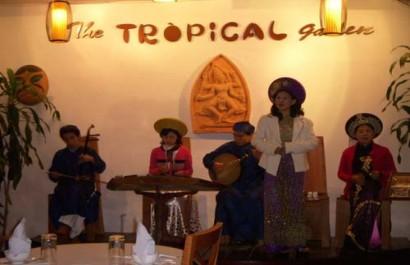 Nhà hàng Vườn nhiệt đới