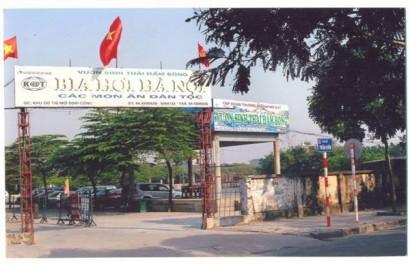 Nhà hàng thủy sản khu sinh thái Đầm Bông