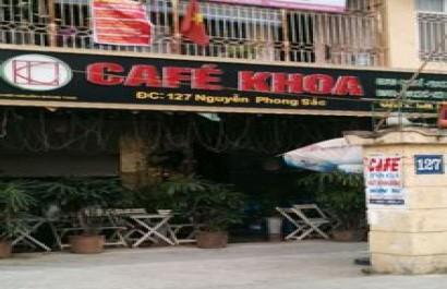 Cafe khoa