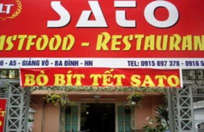 Bò bít tết Sato