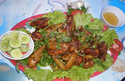 Đặc sản gà Bình Định