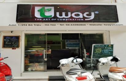 Tway Trà sữa trân châu Đài Loan