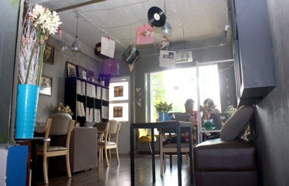 Quán cafe Rong