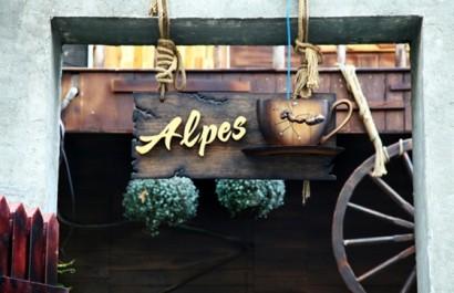 Quán cafe Alpes