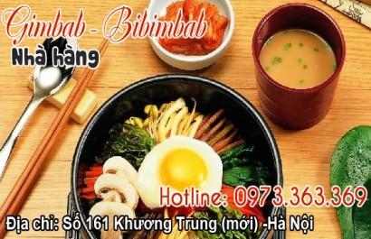 Nhà hàng Gim Bab – Bi Bim Bab