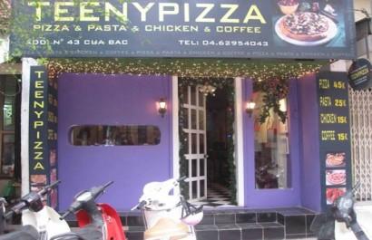 Teeny Pizza