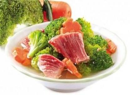 Heo hầm Vissan nấu bông cải