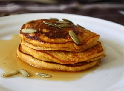 Bánh pancake bí đỏ