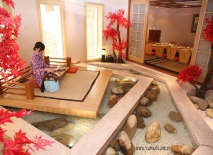 Nhà hàng Wabi Sabi Vườn Nhật