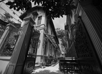 Nhà hàng Villa Home - Kiến trúc vintage giữa lòng Hà Thành