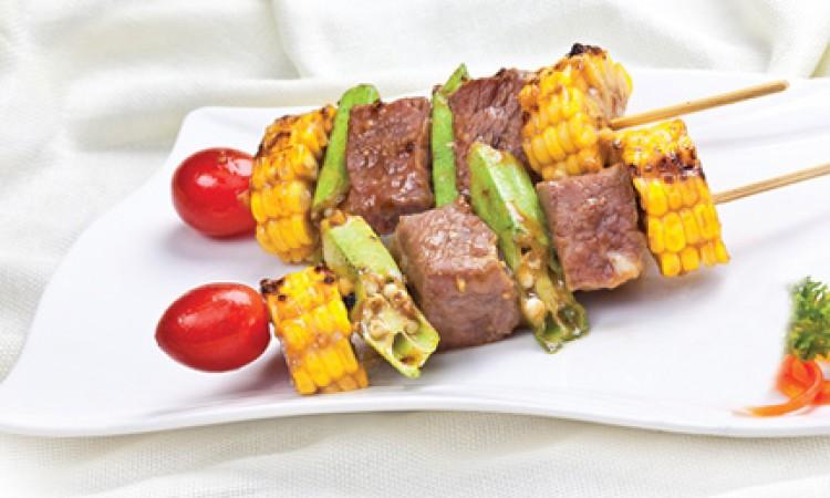Thịt bò nướng mù tạt