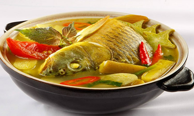 Cá chép nấu bung